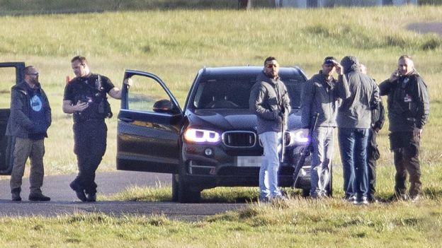 Police At Gatwick