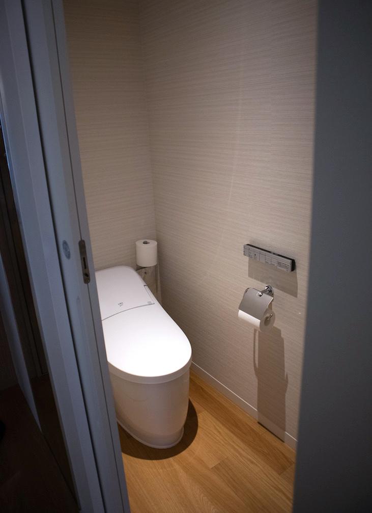 Toto toilet Japan at Keio Plaza Hotel