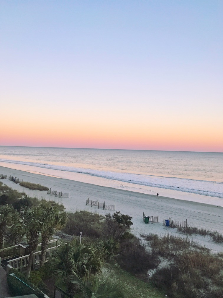 cotton candy myrtle beach sunset