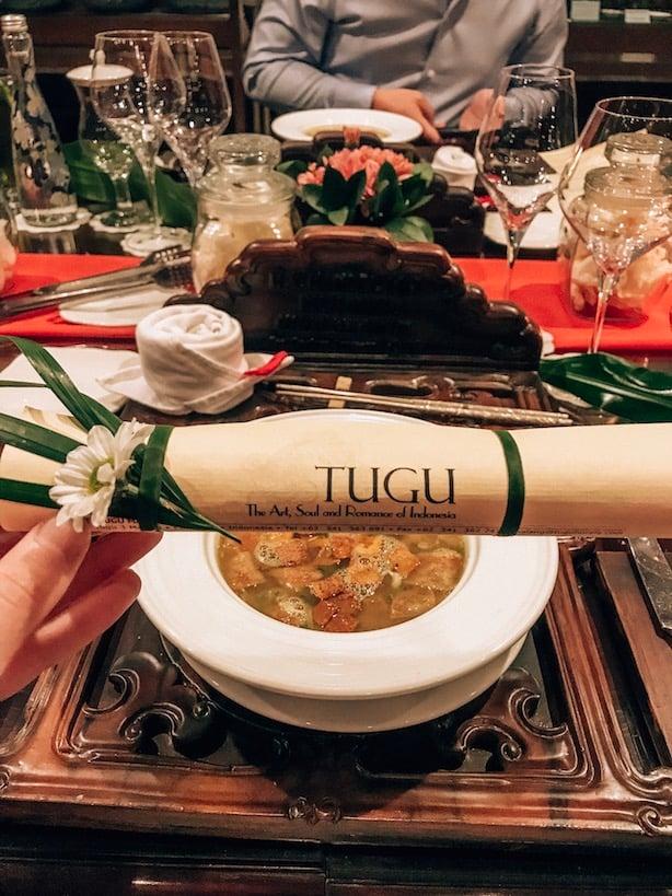 private dinner at tugu malang hotel
