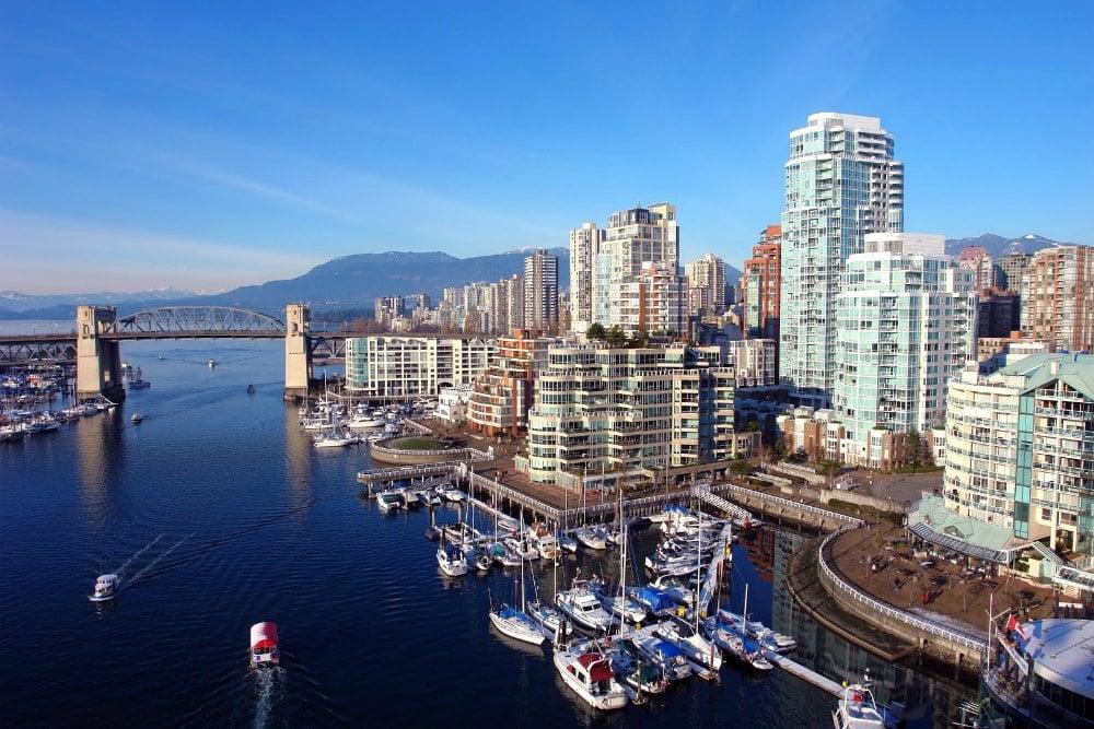 Vancouver Canada Warm winter city