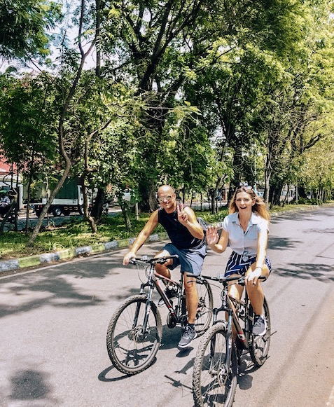 private bike tour through malang with tugu malang hotel