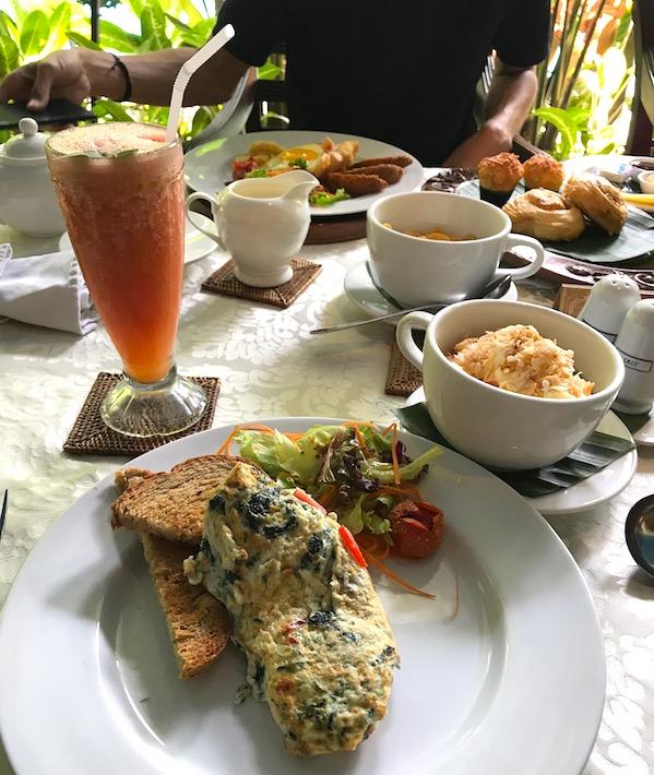 Breakfast at Melati in Tugu hotel malang