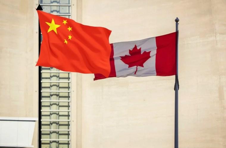 China vs Canada - China issues travel warning against canada
