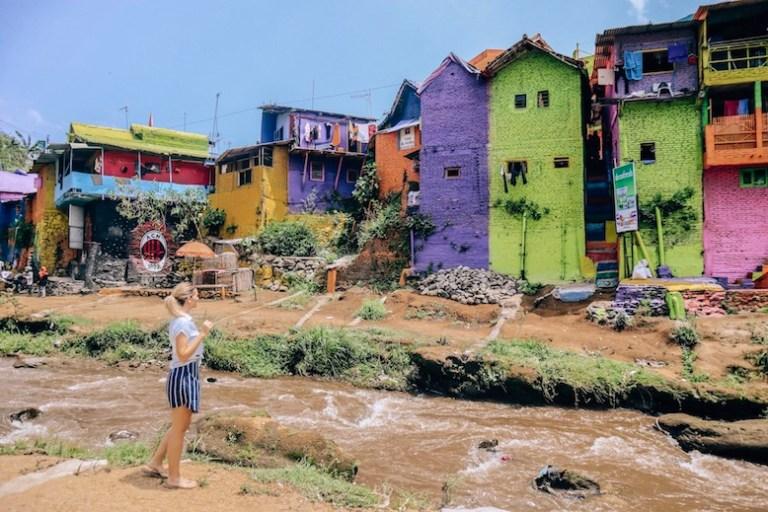 jodipan colorful slums in malang
