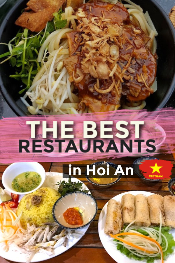 The best restaurants in Hoi An