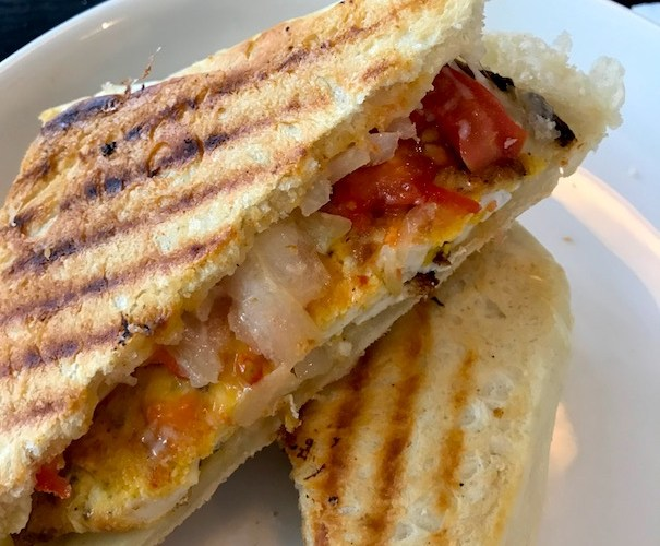 cheap paninis at Mia Coffee in Hoi An