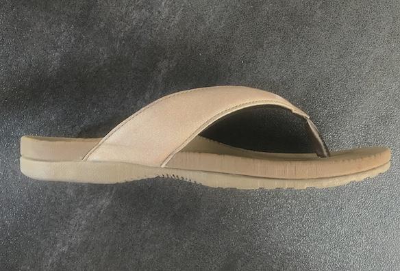 Dr. Scholl arch support flip flops