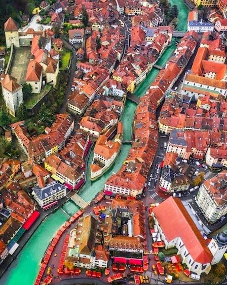 Annecy France - alternative city to Venice