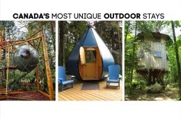 Unreal Glamping in Canada – You Can't Miss These Wild & Unique Stays