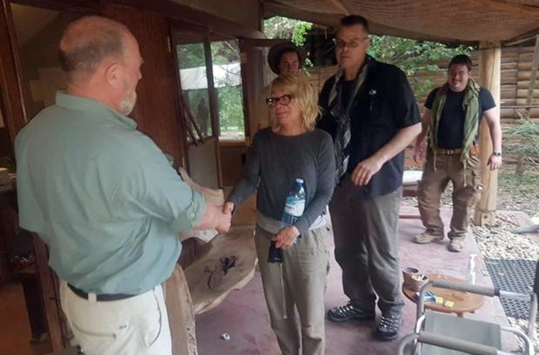 American Woman Rescued in Uganda