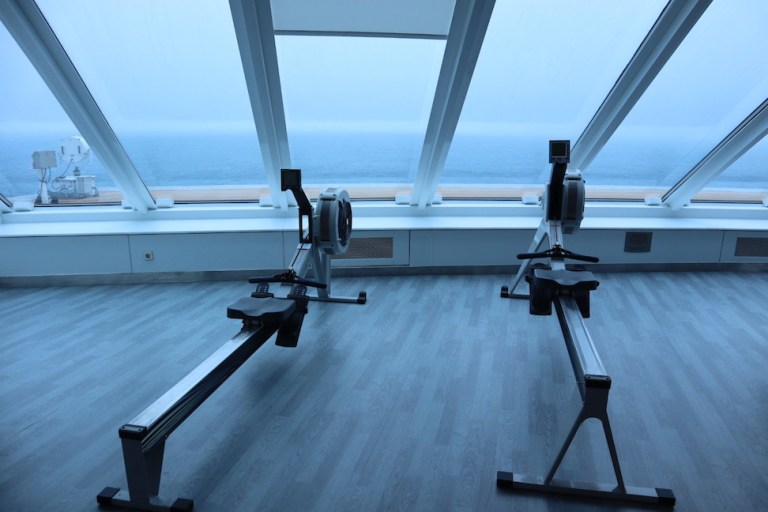 gym on the celebrity millennium