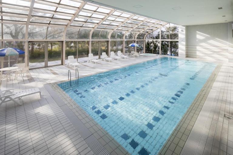 Pool at mystays narita hotel