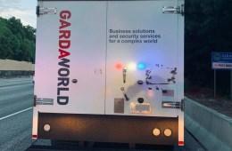 Armored Truck Spills Money in Georgia