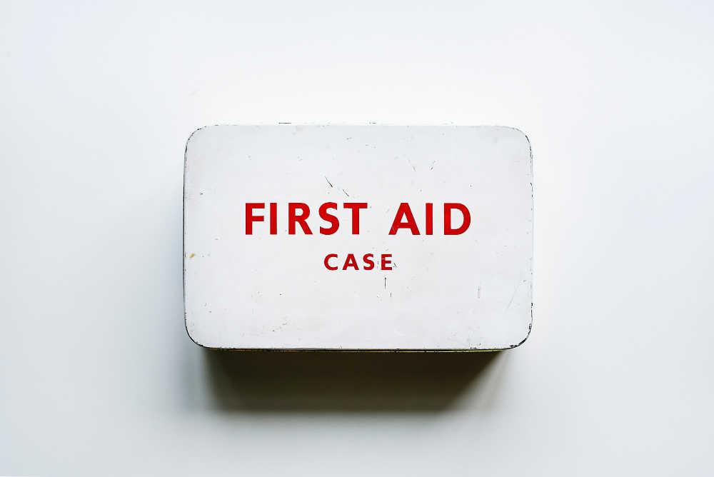 Bring a first aid kit