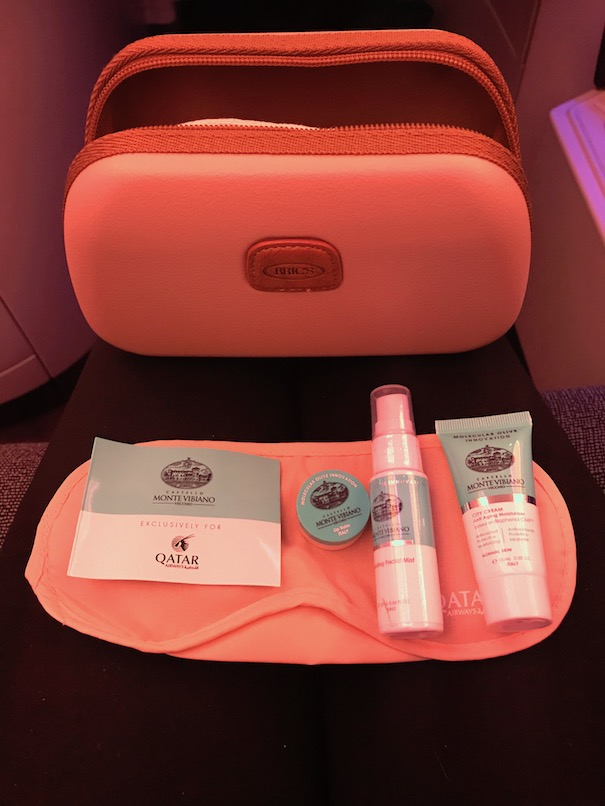 Use the ammenity kits with ear plugs and eye mask on long haul flights
