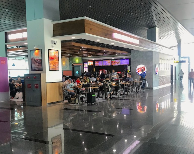Burger King in Da Nang airport