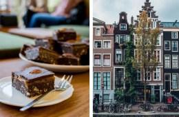 top vegan restaurants in Amsterdam with the best desserts