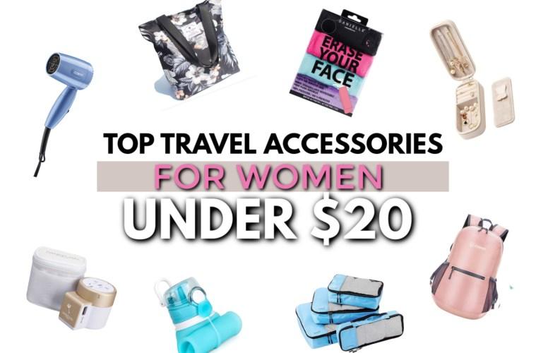 top 40 travel accessories for women under $20