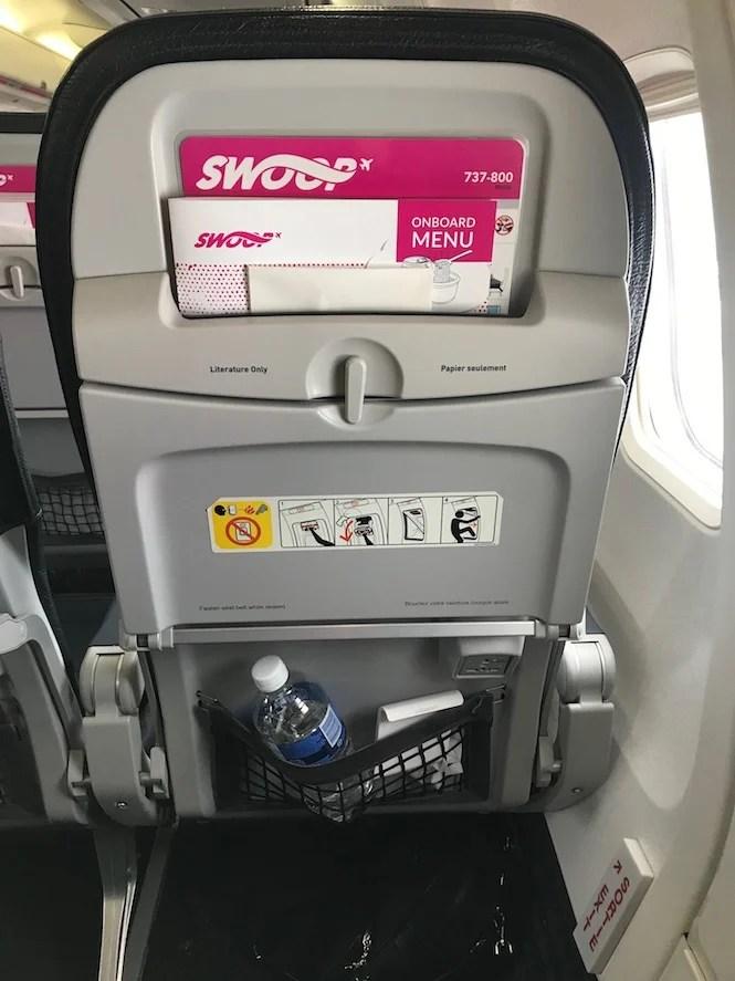 Swoop seat