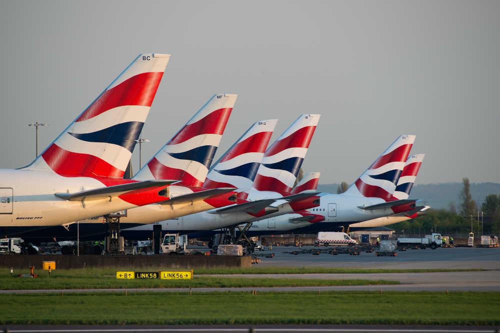 British Airways planes grounded due to strike