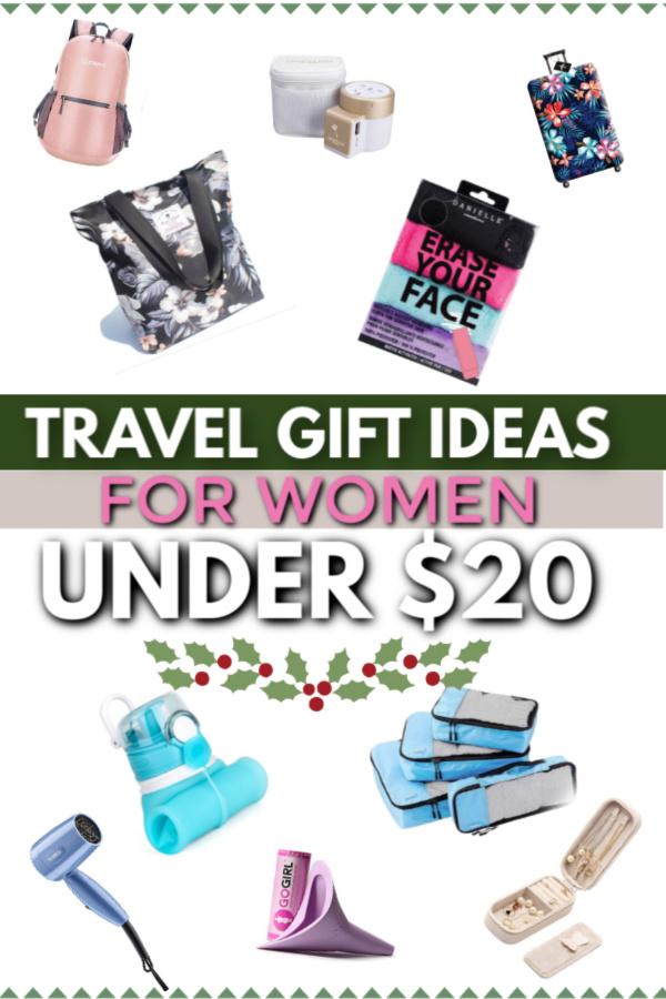 Travel gift ideas for women under $20