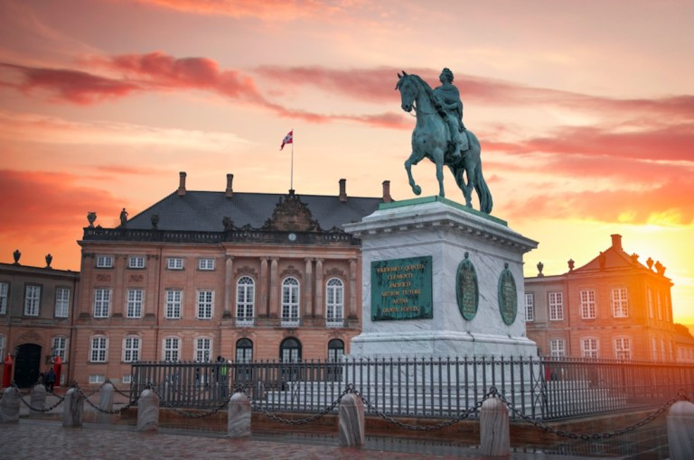 Amalienborg Palace - cheap things to do in copenhagen