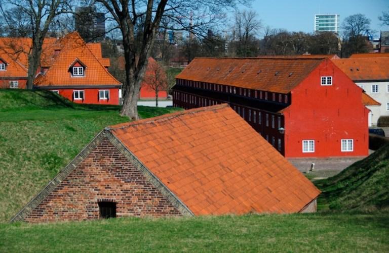 Free to enter Kastellet - copenhagen budget guide