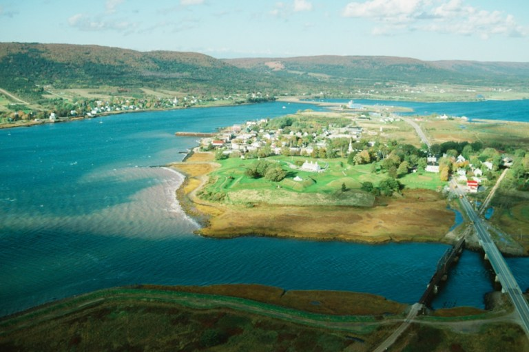 Annapolis Royal from above