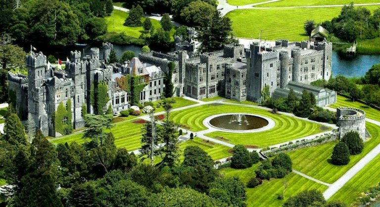 Ashford Castle hotel is truly unique