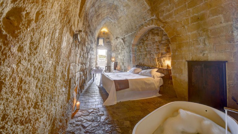cave hotels - unique accommodation in Italy