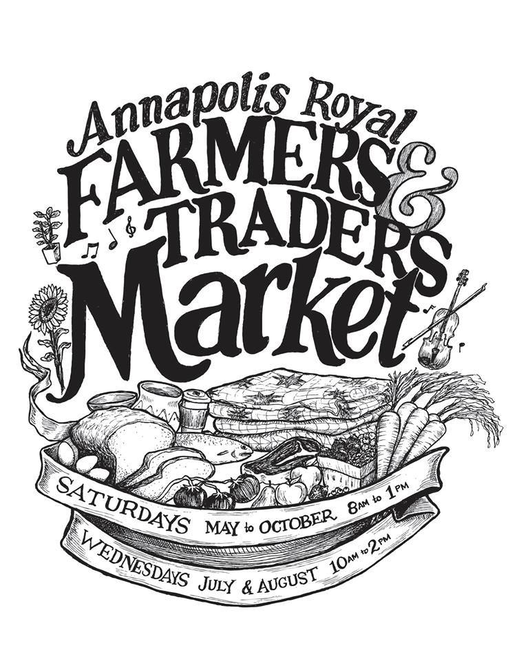 The farmers market in Annapolis Royal
