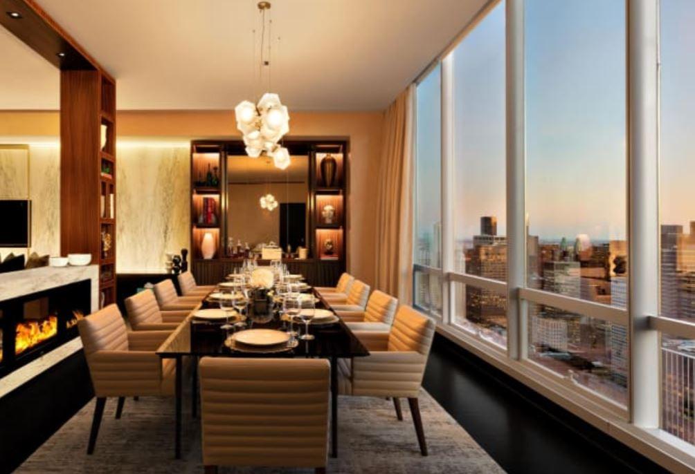 Oark Hyatt Dining Room Suite for 10 suite