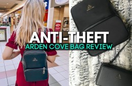 arden cove review - anti theft bags and backpacks