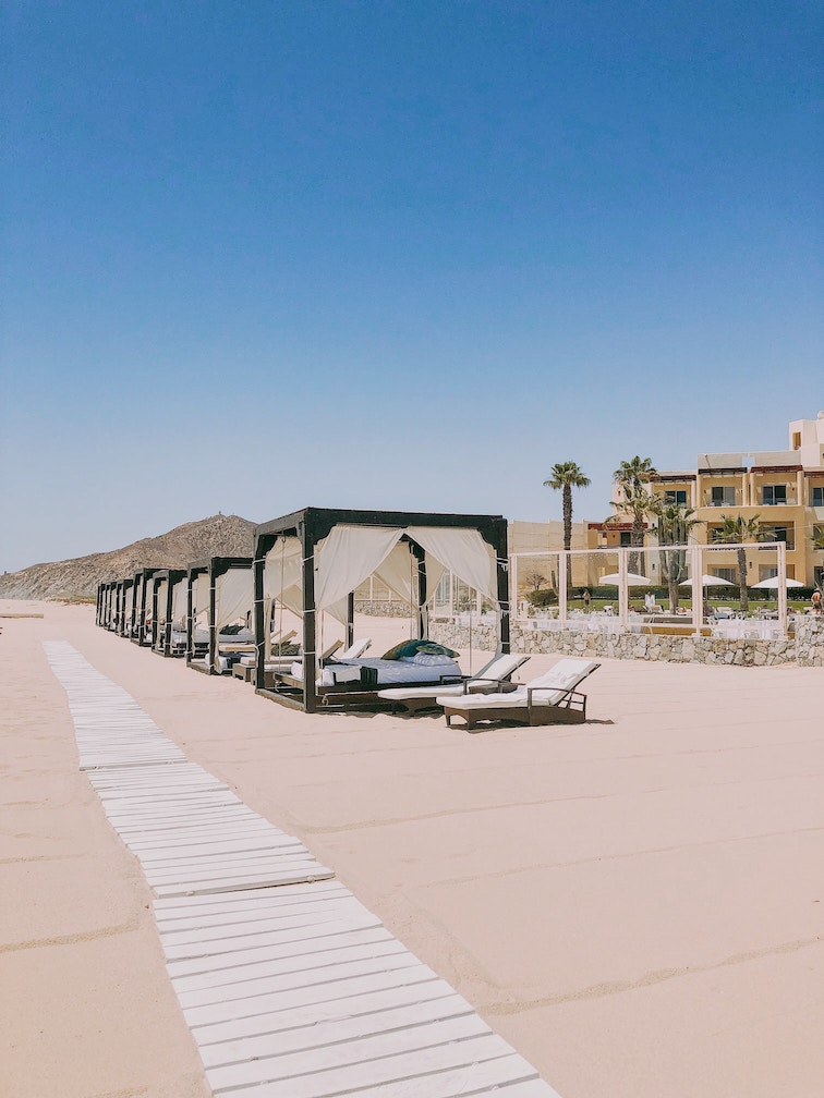 Cabo is a dry desert climate