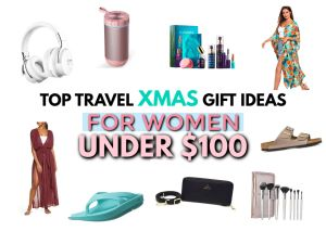top travel christmas gift ideas for women under $100