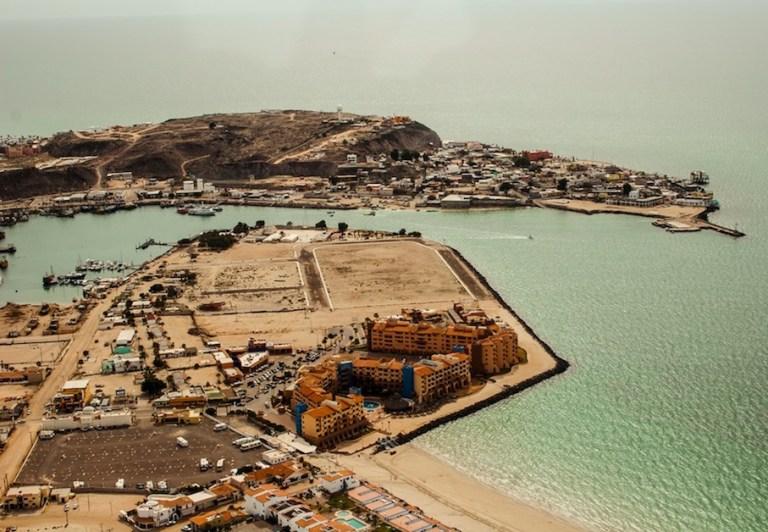 puerto pencaso is very dry