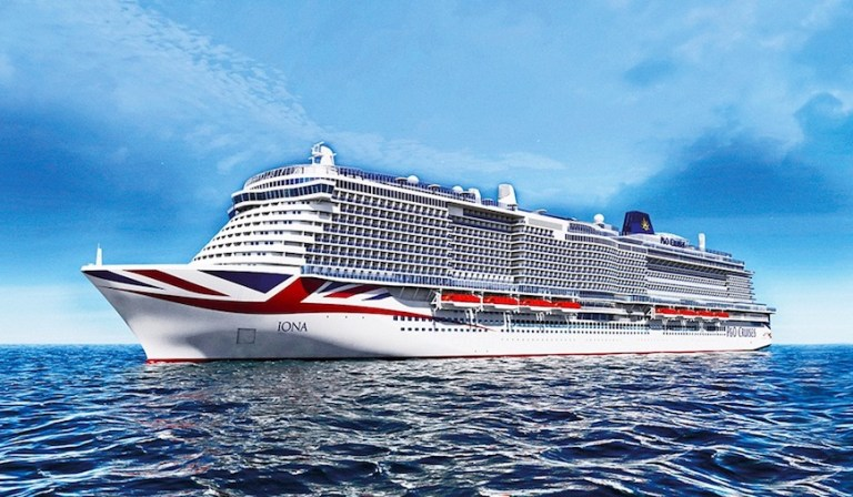 Iona - new cruise ship in 2020 from P&O