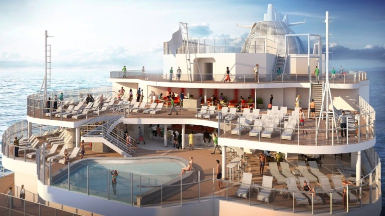 New cruise ship from Princess in 202o - enchanted princess