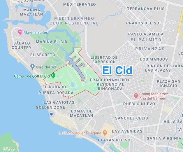 El Cid gated community in mazatlan