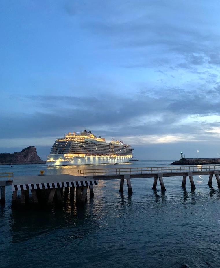 cruise port stop in mazatlan port