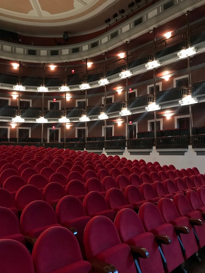 Angela peralta theatre inside
