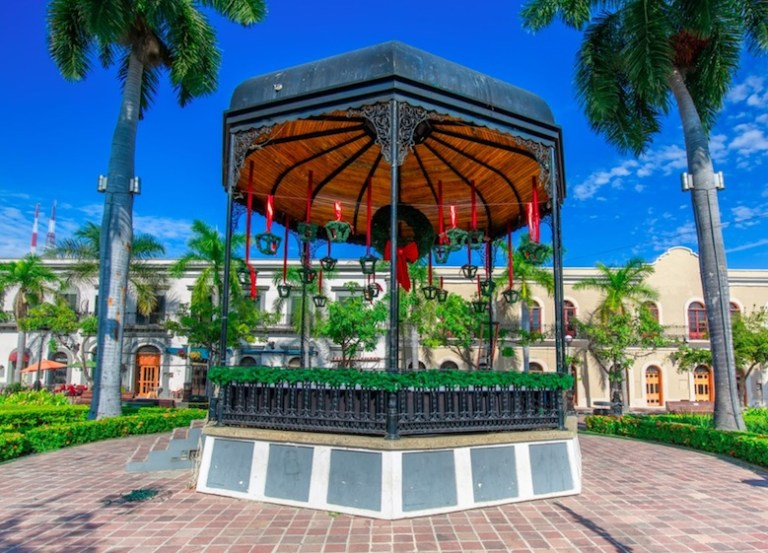 plaza machado in mazatlan