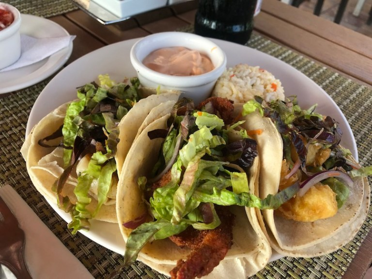 Great food for all inclusive at hotel playa mazatlan