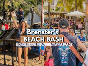 Brenster's Beach Bash - top thing to do in Mazatlan