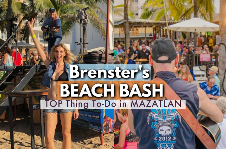Brenster's Beach Bash - top thing to do in Mazatlan