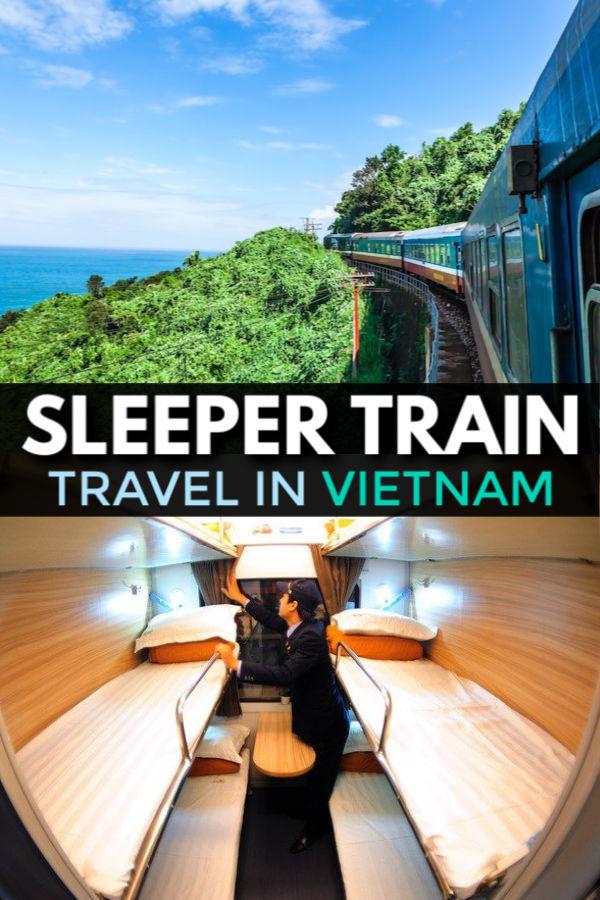 Sleeper train travel in vietnam