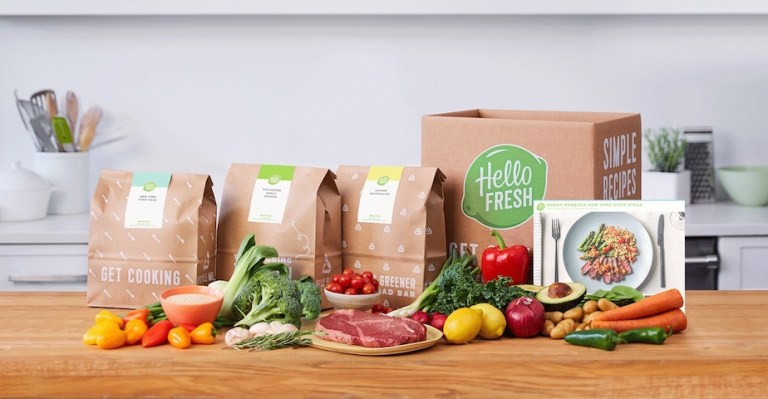 dont leave the house, use Hello Fresh meal kits in canada