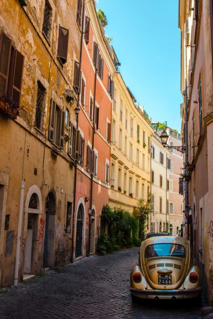 Streets of rome reopening