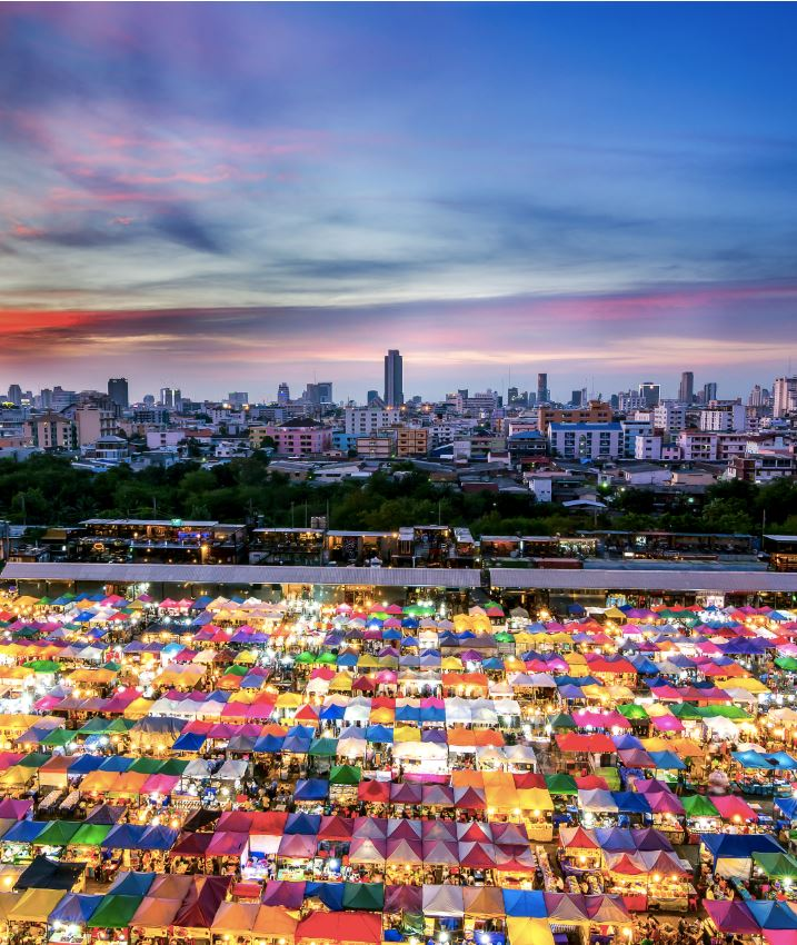 Thailand Market in Bangkok